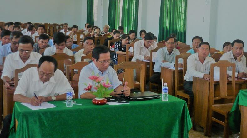 2. Học viên dự tập huấn