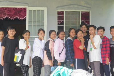 Tinh thần tương thân, tương ái của tập thể lớp 9C với học sinh Điểu Minh Trung