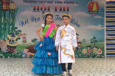 Trường tiểu học Vĩnh Phong 4 tổ chức đêm hội trăng rằm