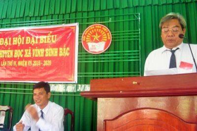 Xã Vĩnh Bình Bắc tổ chức đại hội hội khuyến học nhiệm kỳ IV (2010-2015)