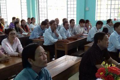 Vĩnh Thuận Khai giảng lớp bồi dưỡng tiêu chuẩn chức danh nghề nghiệp viên chức  giảng dạy trong các cơ sở giáo dục công lập