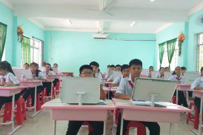 Trường Trung học cơ sở Thị Trấn với phong trào thi đua dạy tốt học tốt