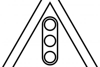 Tranh trắng và tranh ghép thi An toàn giao thông khối mầm non năm học 2019-2020