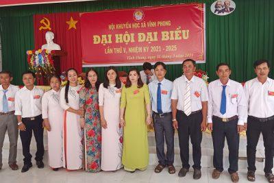 Hội Khuyến học xã Vĩnh Phong tổ chức Đại hội Khuyến học nhiệm kỳ 2021-2025