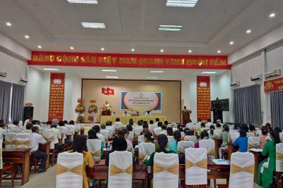 Hội Cựu giáo chức huyện Vĩnh Thuận tổ chức Đại hội lần thứ II, nhiệm kỳ 2021-2026