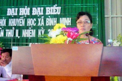 Xã Bình Minh tổ chức đại hội hội khuyến học nhiệm kỳ II (2010-2015)