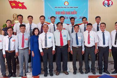 Hội Khuyến học xã Vĩnh Thuận tổ chức Đại hội nhiệm kỳ V (2021-2025)