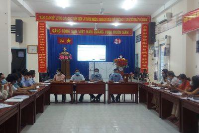 Trường THPT Vĩnh Thuận hội thảo nâng cao chất lượng ôn thi tốt nghiệp THPT năm 2021