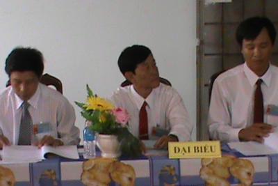 Chi bộ Phòng GD&ĐT tổ chức đại hội đảng viên Lần thứ XIV nhiệm kỳ 2015-2020