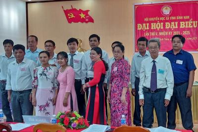 Hội Khuyến học xã Vĩnh Bình Nam, Hội Khuyến học xã Phong Đông tổ chức Đại hội Khuyến học nhiệm kỳ 2021-2025