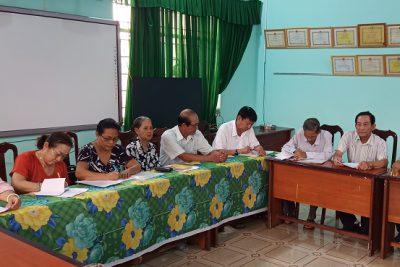 Hội Cựu giáo chức huyện tổ chức hội nghị Ban chấp hành lần thứ X nhiệm kỳ 2015-2020