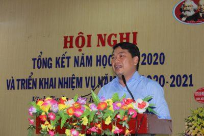 Phòng Giáo dục và Đào tạo huyện Vĩnh Thuận tổng kết năm học 2019-2020