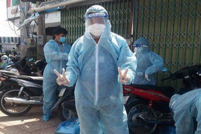 Mùa hè khó quên của thầy cô giáo tham gia phòng chống dịch bệnh Covid-19