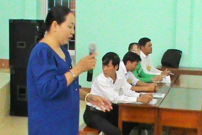 """Phòng GD&ĐT Vĩnh Thuận tổ chức thi """"Văn hay – chữ tốt"""" bậc THCS"""