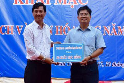 Vĩnh Thuận tưng bừng ngày hội sách năm 2021