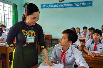 Cô  Lê Thị Diệu, tấm gương sáng trong sự nghiệp giáo dục