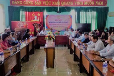 Hội cựu giáo chức huyện Vĩnh Thuận tổ chức kỷ niệm 36 năm ngày Nhà giáo Việt Nam 20/11