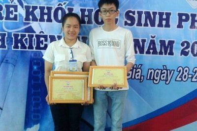 Đoàn TNCS Hồ Chí Minh huyện Vĩnh Thuận tham dự Hội thi tin học trẻ năm 2016