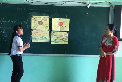 Cô Trương Thị Tâm Nguyên gương sáng trong sự nghiệp trồng người