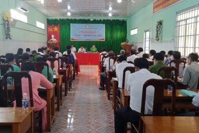 Hội khuyến học thị trấn tổ chức đại hội đại biểu hội khuyến học nhiệm kỳ IV (2015-2020)