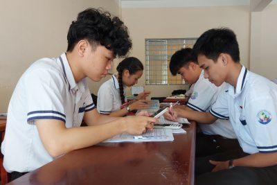 Trường Trung học phổ thông Vĩnh Thuận tích cực cho kỳ thi Trung học phổ thông năm 2020