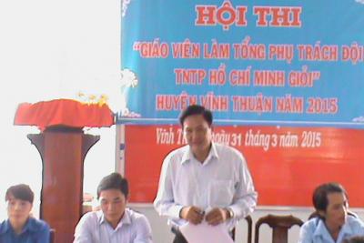Khai mạc Hội thi giáo viên làm Tổng phụ trách Đội TNTP Hồ Chí Minh giỏi năm học 2014-2015