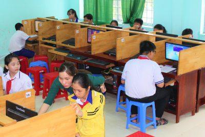 Hội thi Tin học trẻ huyện Vĩnh Thuận năm 2020
