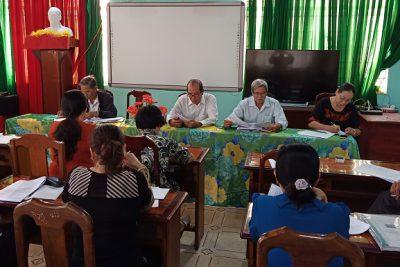 Hội nghị Ban chấp hành Hội Cựu giáo chức huyện lần thưa XI