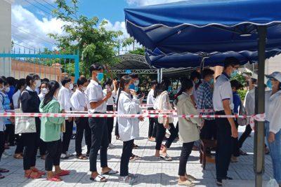 Trường Trung học phổ thông Vĩnh Thuận tổ chức thi tuyển sinh lớp 10