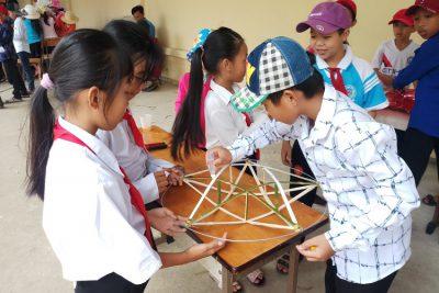 Trường tiểu học Vĩnh Bình Bắc 4 tổ chức vui tết trung thu và đêm hội trăng rằm