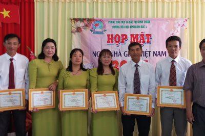 Trường tiểu học Vĩnh Bình Bắc 4 tổng kết Hội thi giáo viên dạy giỏi cấp trường