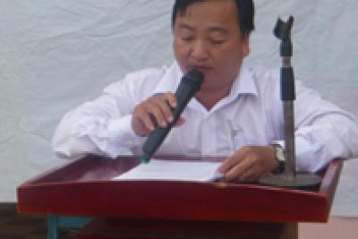 Trường THCS Vĩnh Phong 2 tổ chức lễ ra trường cho học sinh lớp 9