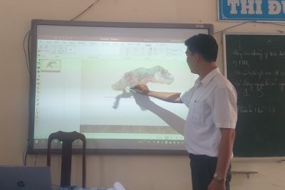 Thầy giáo ứng dụng công nghệ thông tin hiệu quả trong giảng dạy