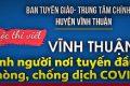 """Phát động cuộc thi viết """"Vĩnh Thuận tình người nơi tuyến đầu phòng, chống dịch COVID-19"""""""