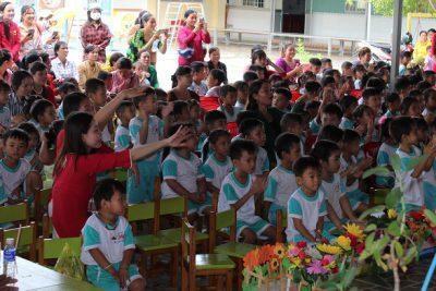 Trường mẫu giáo Bình Minh tổng kết năm học 2019-2020