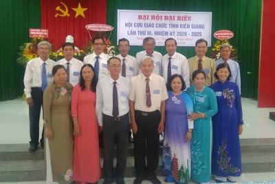 Đại hội Hội Cựu giáo chức tỉnh lần thứ III, nhiệm kỳ 2020-2025