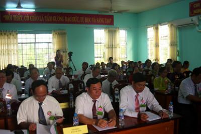 Hội Cựu giáo chức huyện đại hội nhiệm kỳ I (2015-2020)