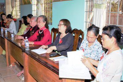 Họp mặt Hội Cựu giáo chức huyện Vĩnh Thuận