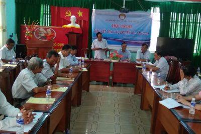 Hội khuyến học huyện tổ chức Hội nghị Tổng kết công tác năm 2018