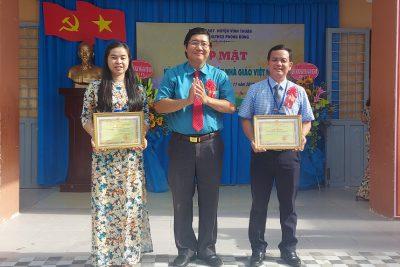 Trường tiểu học và THCS Phong Đông tổ chức họp mặt kỉ niệm 38 năm ngày Nhà giáo Việt Nam (20/11/1982 – 20/11/2020)