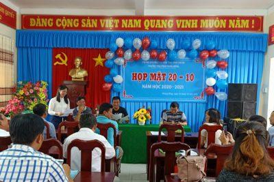 Trường tiểu học và THCS Phong Đông tổ chức họp mặt 90 năm ngày thành lập Hội Liên hiệp phụ nữ Việt Nam (20/10/1930-20/10/2020)