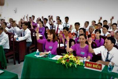 Chi bộ Trường Tiểu học và Trung học cơ sở Phong Đông tổ chức Đại hội, lần thứ VI, nhiệm kỳ 2020 – 2022