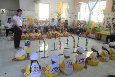 Trường mẫu giáo Phong Đông tổ chức sinh hoạt chuyên môn theo hướng nghiên cứu bài học năm học 2020-2021