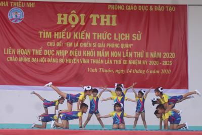 Hội thi tìm hiểu kiến thức lịch sử huyện Vĩnh Thuận năm 2020