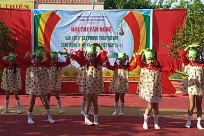 Trường tiểu học Võ Văn Kiệt tổ chức chương trình văn nghệ chào mừng kỷ niệm ngày nhà giáo Việt Nam 20/11